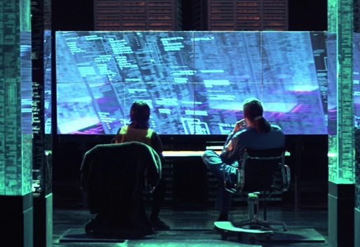 image from the movie Hackers
