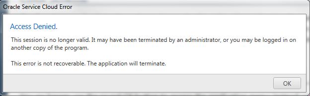 Illustration of Access Denied error message
