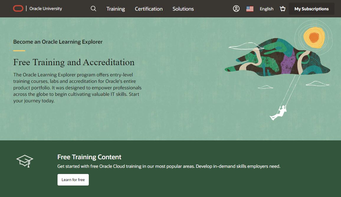 Oracle Learning Explorer